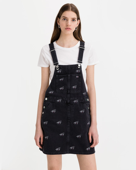 Tommy Jeans Dungaree Rochie cu bretele