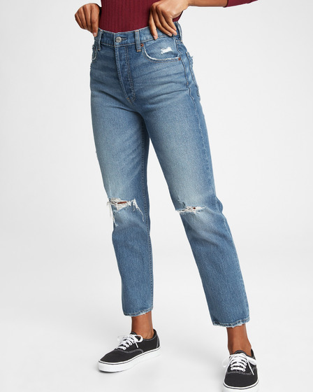 GAP Cheeky Straight Med Dean Jeans