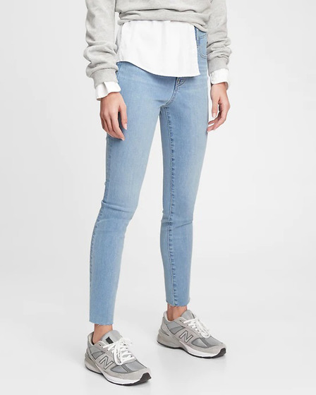 GAP The Gen Good High Rise True Skinny Jeans